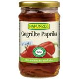 Gegrillte rote Paprika in Lake