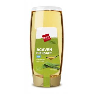 GREEN Agavendicksaft hell  700g